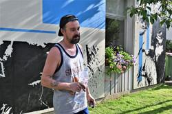 Nancy, street-art : Vince résidence autonomie Mouilleron