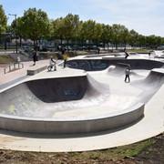 le skatepark des Rives de Meurthe