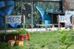 Nancy, street-art : Valer au lycée Loritz