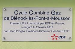 Nancy, Centrale CCG Blénod-les-PAM