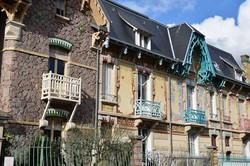 Nancy, villas rue Felix Faure
