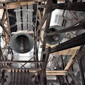 au sommet de la tour de ND-de-Lourdes