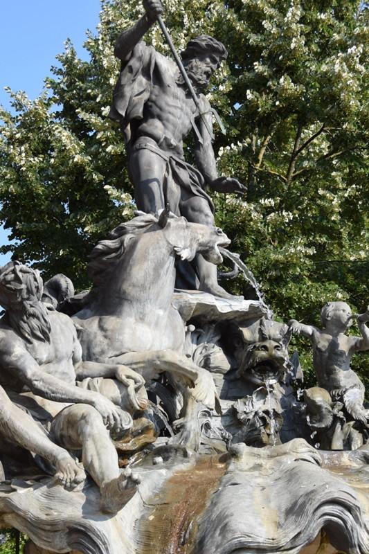Nancy, fontaines place Stanislas