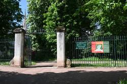 Nancy, jardin du palais du Gouvernement