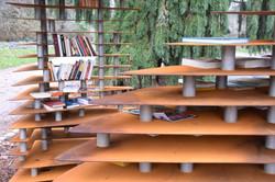 Nancy, arbres à livres