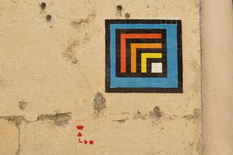 Nancy, les mosaïques de WALDO