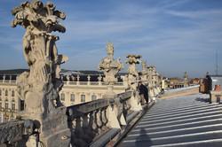Nancy, des toits de l'Hôtel de Ville