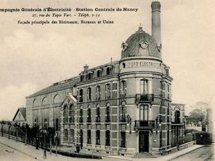 L'électricité à Nancy, plus d'un siècle d'histoire