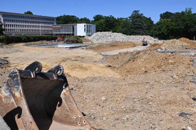 GN Thermal, démolition piscine Bobet
