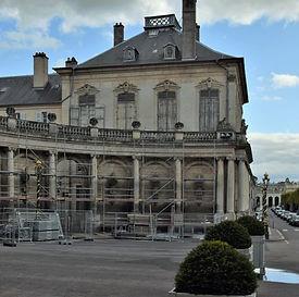 Nancy, rénovation hémicycle Charles De Gaulle