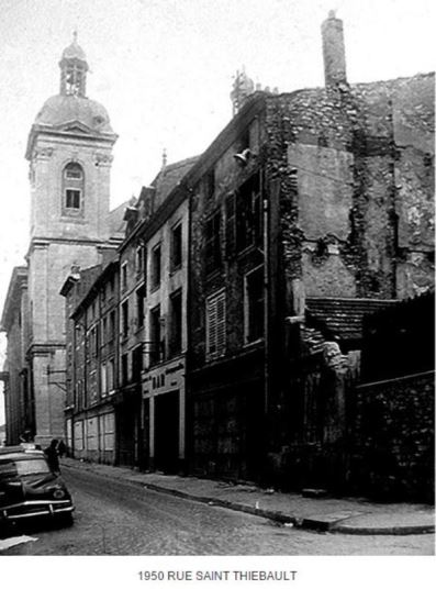 Nancy, quartier Saint-Sébastien