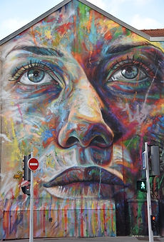 "Street Art, ""Giulia"" de David Walker"