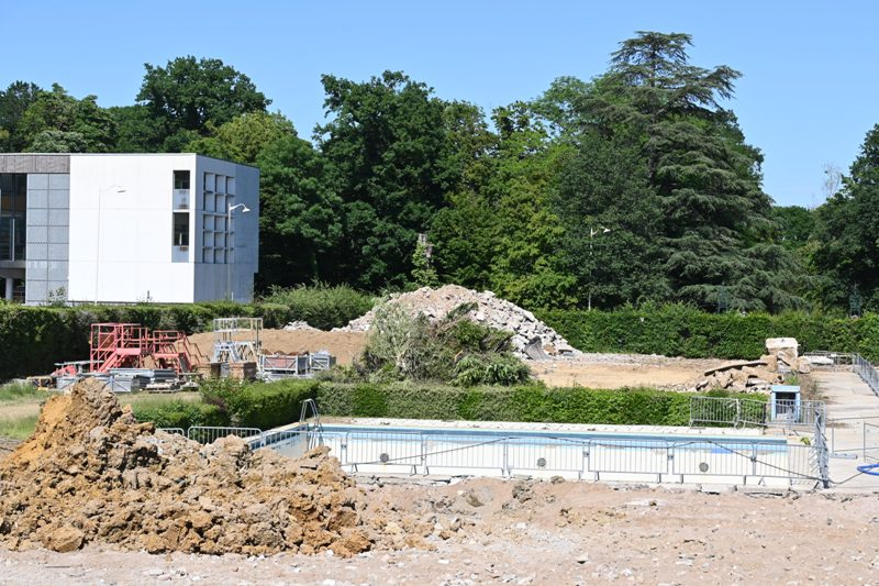 GN Thermal, démolition piscine Bobet