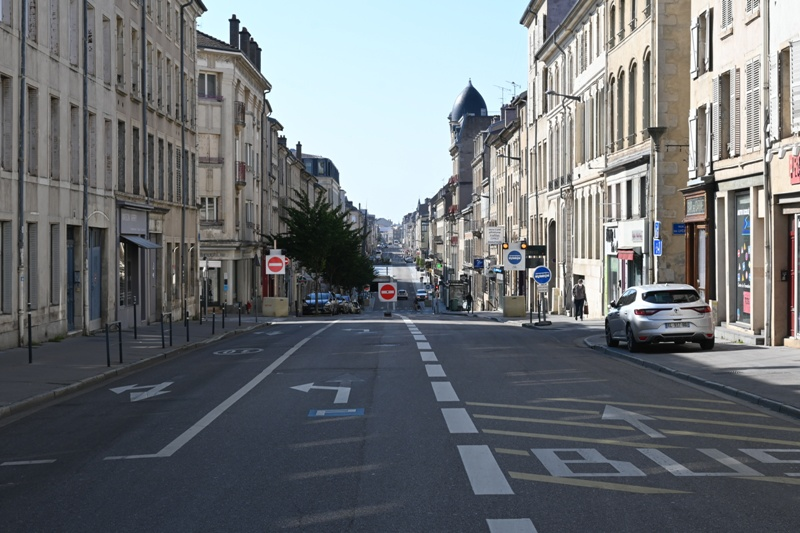 Nancy, rue des Carmes