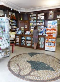 Nancy, pharmacie du Ginkgo