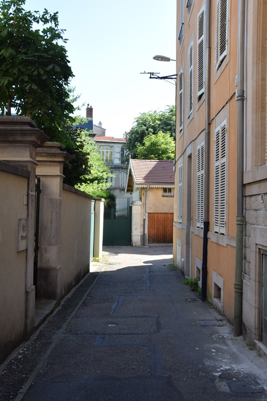 Nancy, passage Sébastien Bottin