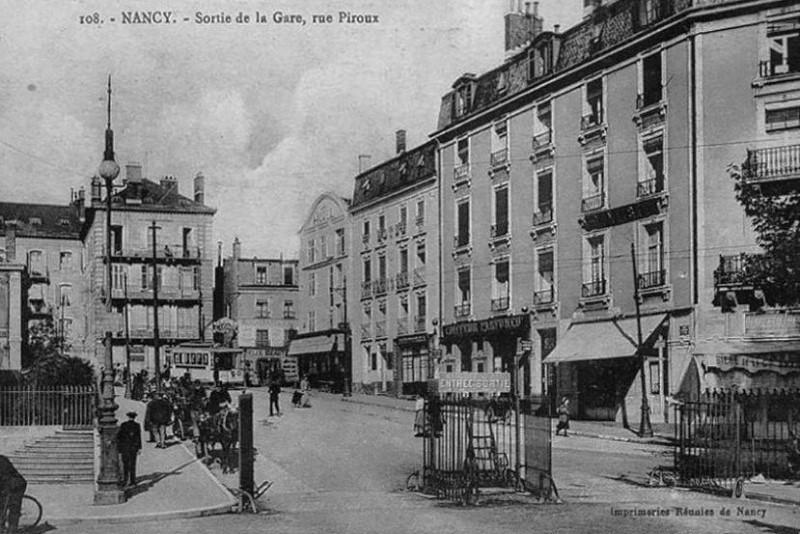 Nancy, place Veil (place Thiers)