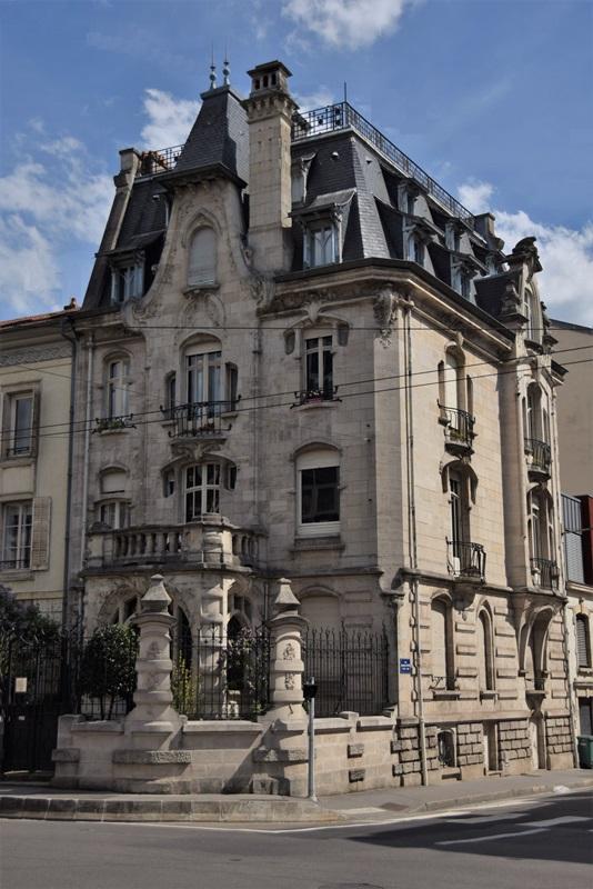 Nancy, hôtel du Docteur Paul Jacques