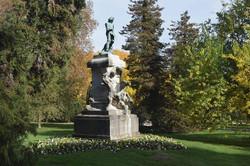 Nancy, parc de la pépinière