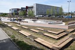 Nancy, skatepark Rives de Meurthe