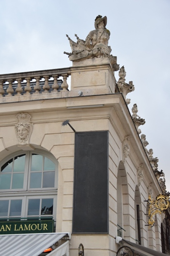Nancy, méridiennes place Stanislas