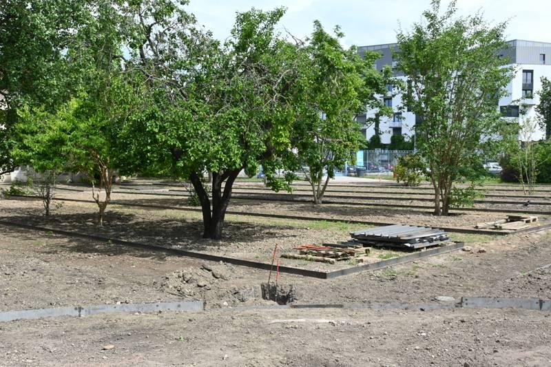 Nancy, 2020 réhabilitation jardin Godron