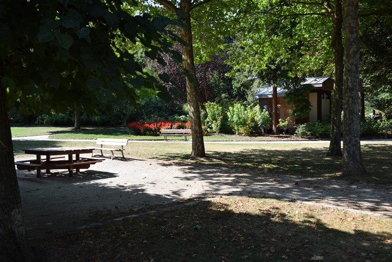 Nancy, parc Olry