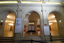 Nancy, galerie et salle Poirel