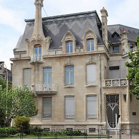 Nancy, villas Art nouveau