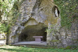 Nancy, la grotte ND de Lourdes