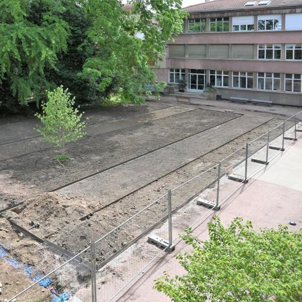 requalification du jardin Godron