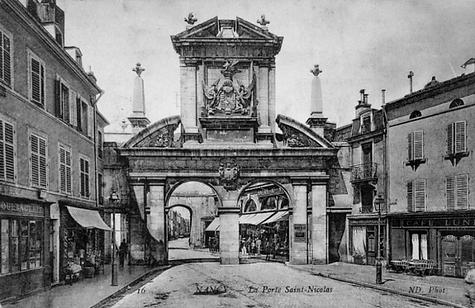 Nancy hier, porte Saint Nicolas