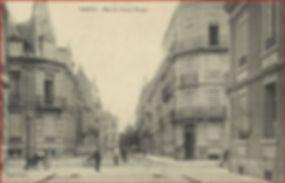 Nancy hier, rue du Grand Verger