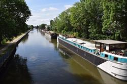 Nancy, canal de la Marne au Rhin
