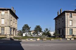 Nancy, l'Octroi, site des anciens abattoirs