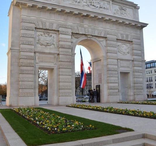 Nancy, Mémorial Désilles