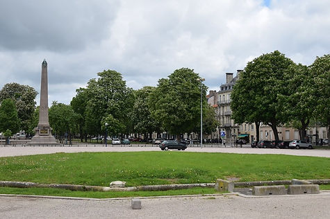 Nancy hier, place Carnot, cours Leopold