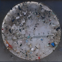 Gyre de plastique - Océan pacifique
