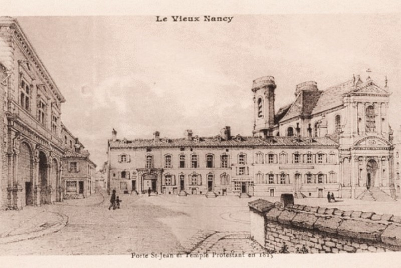 Nancy, porte Saint-Jean