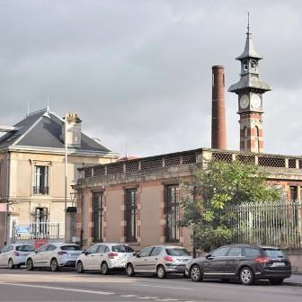 """""""les Rivages"""" et un pont à Lobau"""