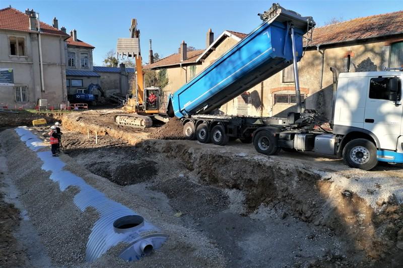 réhabilitation du château de Brabois