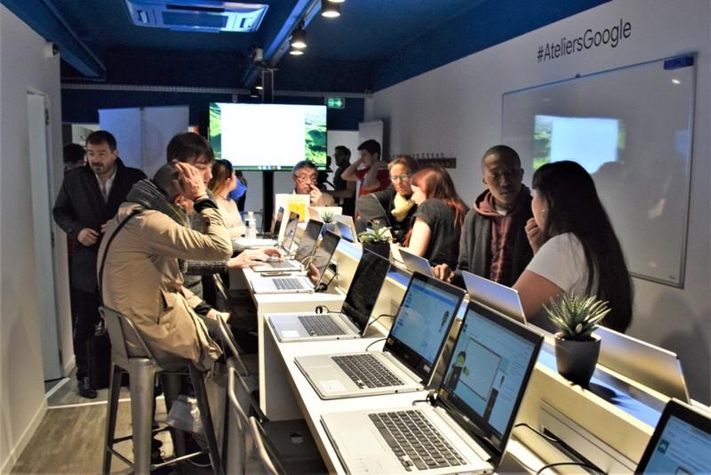 Nancy, Atelier numérique Google
