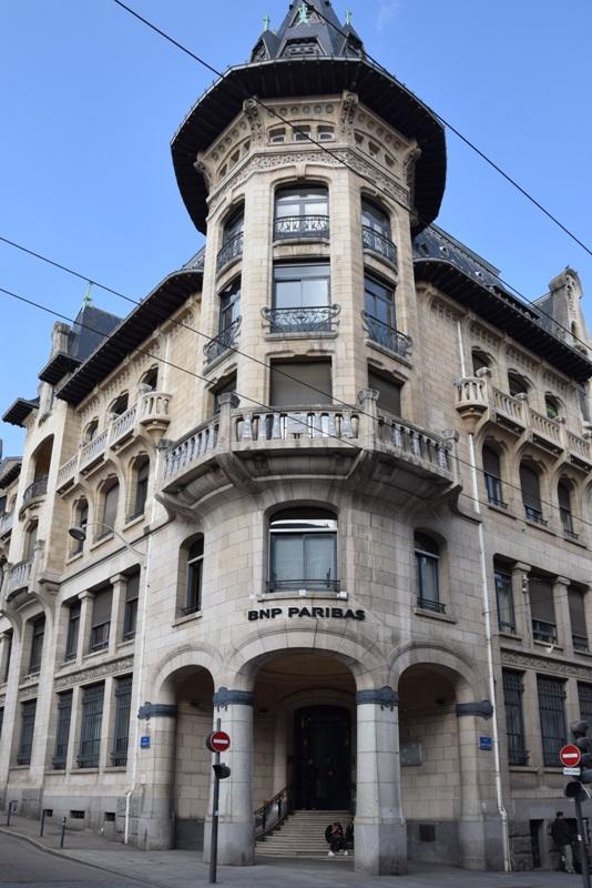 Nancy, rue Saint-Jean