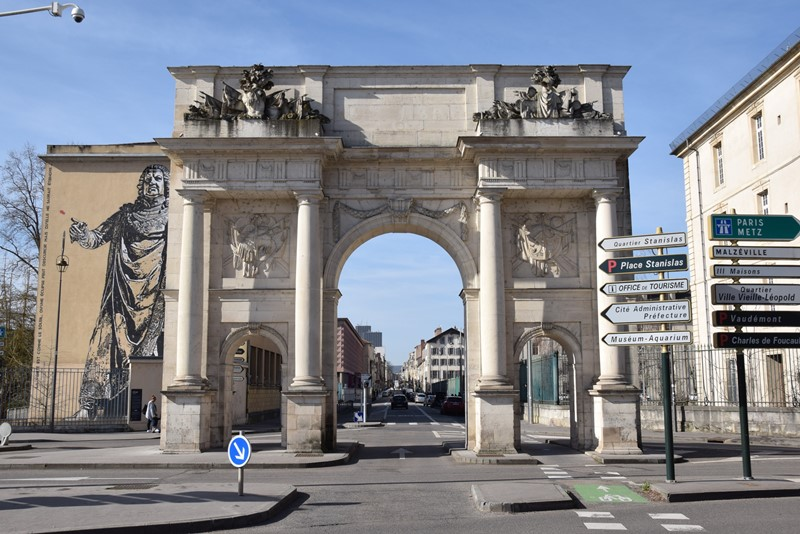 Nancy, porte Sainte-Catherine