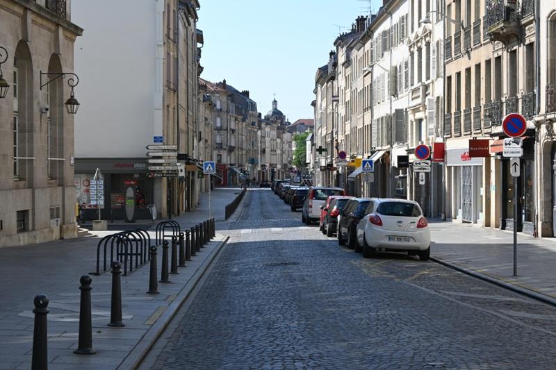 Nancy, rue des Dominicains