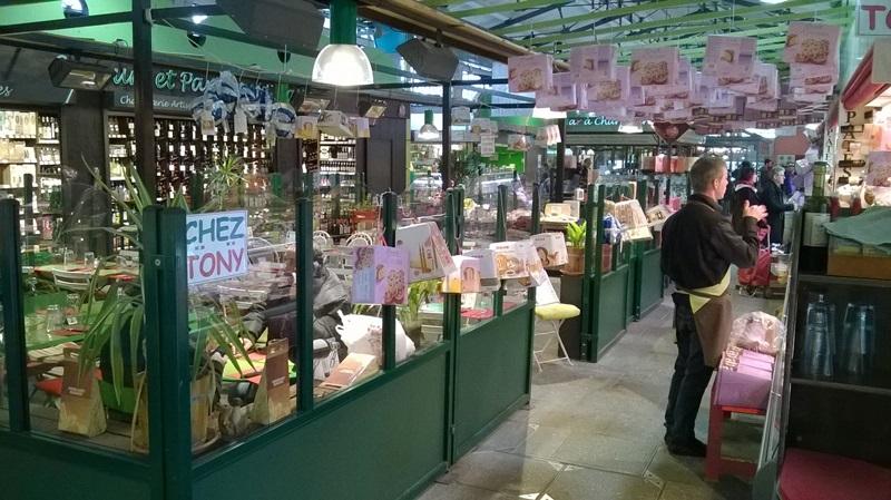 Nancy, marché couvert