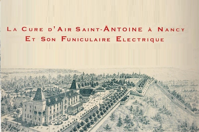 Nancy, la Cure d'air Saint-Antoine