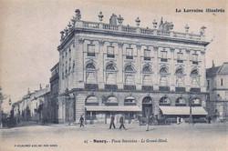 Nancy, hôtel de la Reine
