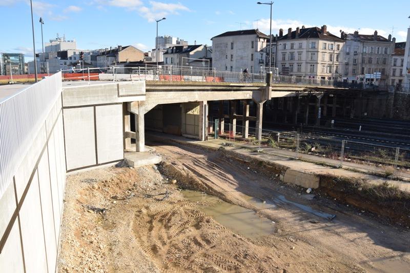 Nancy Grand Cœur, pont des Fusillés