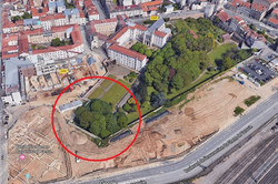 Nancy, jardin des fortifications